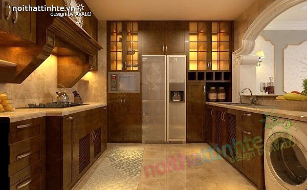 Thiết kế nội thất chung cư Royal city 135 m2 05