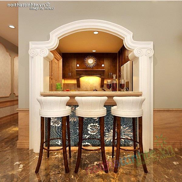 Thiết kế nội thất chung cư Royal City R3 135 m2