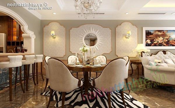 Thiết kế nội thất chung cư Royal city 135 m2 07