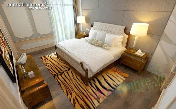 Thiết kế nội thất chung cư Royal city 135 m2 09
