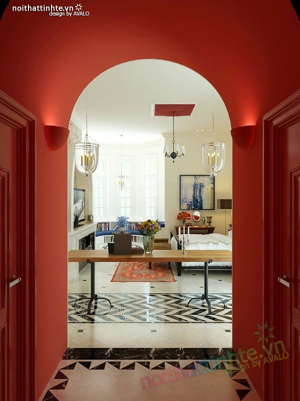 Thiết kế nội thất phong cách Địa Trung Hải 14