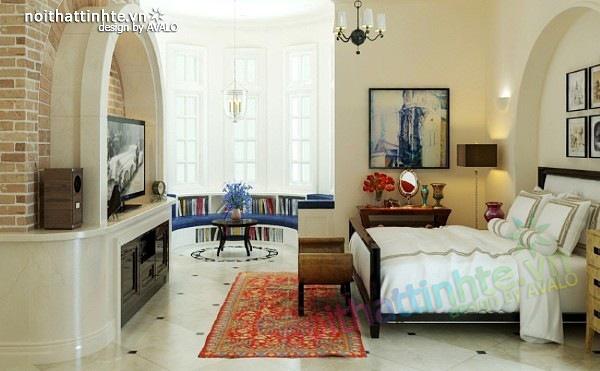 Thiết kế nội thất phong cách Địa Trung Hải 04