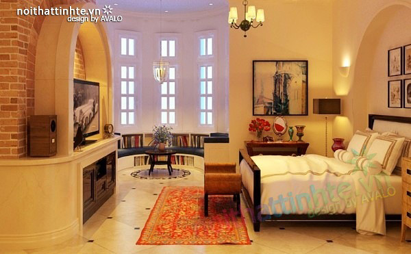 Thiết kế nội thất phong cách Địa Trung Hải 05
