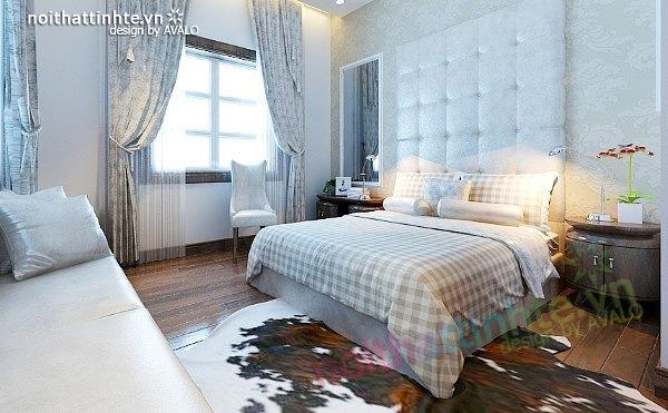 Thiết kế nội thất biệt thự phong cách đương đại 10