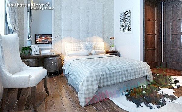 Thiết kế nội thất biệt thự phong cách đương đại 11