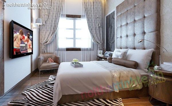 Thiết kế nội thất biệt thự phong cách đương đại 12