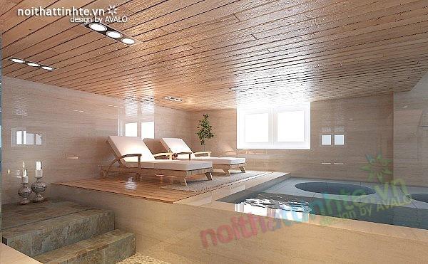 Thiết kế nội thất biệt thự phong cách đương đại 15