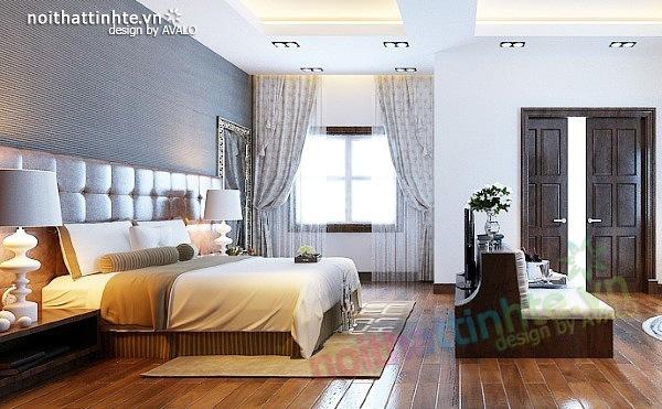 Thiết kế nội thất biệt thự phong cách đương đại 05