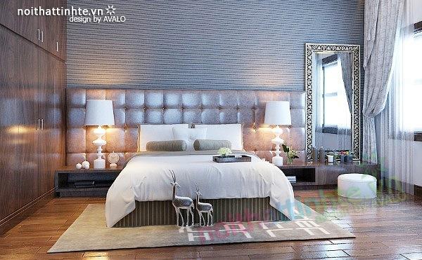 Thiết kế nội thất biệt thự phong cách đương đại 06