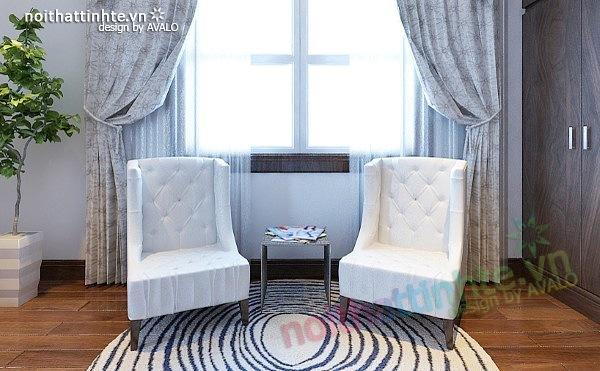 Thiết kế nội thất biệt thự phong cách đương đại 09