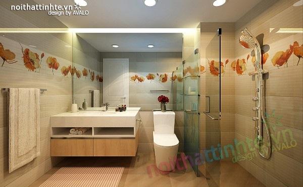 Thiết kế nội thất chung cư 60m2 10