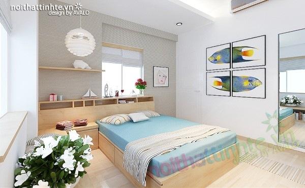 Thiết kế nội thất chung cư 60m2 12