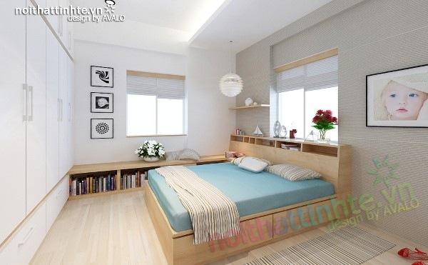 Thiết kế nội thất chung cư 60m2 13