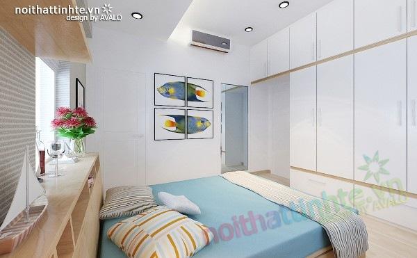 Thiết kế nội thất chung cư 60m2 14