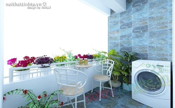 Thiết kế nội thất chung cư 60m2 15