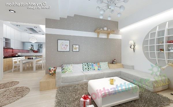 Thiết kế nội thất chung cư 60m2 05
