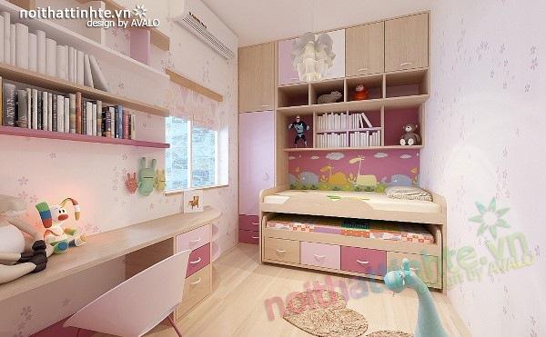 Thiết kế nội thất chung cư 60m2 08