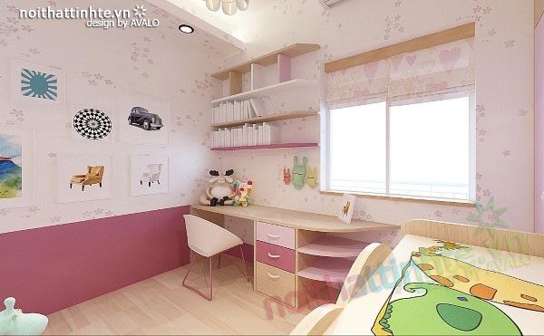 Thiết kế nội thất chung cư 60m2 09