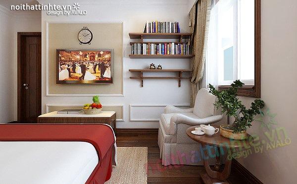 Thiết kế nội thất căn hộ chung cư cao cấp  Việt Hưng 10
