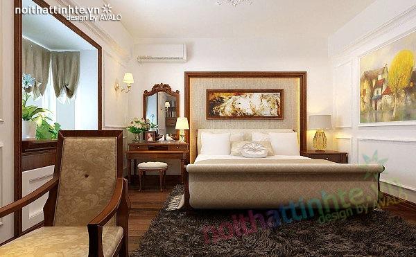 Thiết kế nội thất căn hộ chung cư cao cấp  Việt Hưng 11