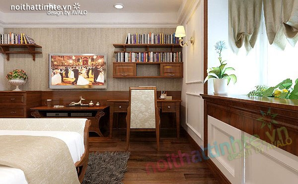 Thiết kế nội thất căn hộ chung cư cao cấp  Việt Hưng 12
