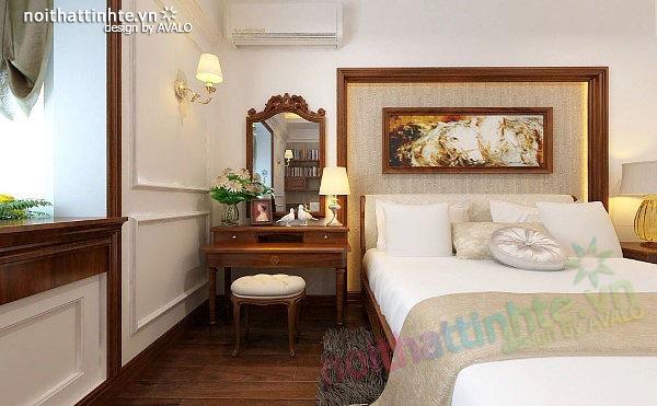 Thiết kế nội thất căn hộ chung cư cao cấp  Việt Hưng 13