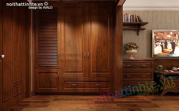 Thiết kế nội thất căn hộ chung cư cao cấp  Việt Hưng 14