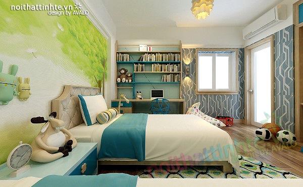 Thiết kế nội thất căn hộ chung cư cao cấp  Việt Hưng 15