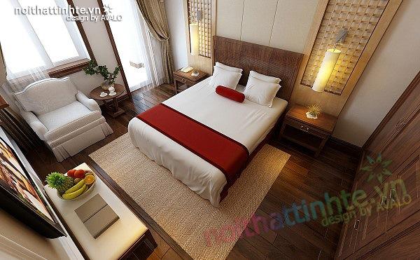 Thiết kế nội thất căn hộ chung cư cao cấp  Việt Hưng 02