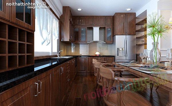 Thiết kế nội thất căn hộ chung cư cao cấp  Việt Hưng 04