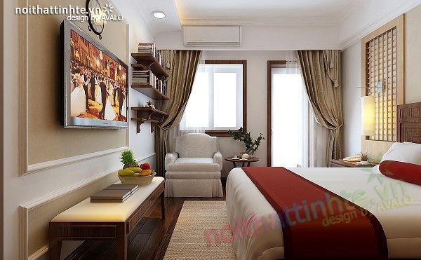 Thiết kế nội thất căn hộ chung cư cao cấp  Việt Hưng 05