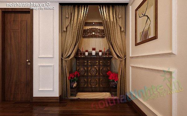 Thiết kế nội thất căn hộ chung cư cao cấp  Việt Hưng 06