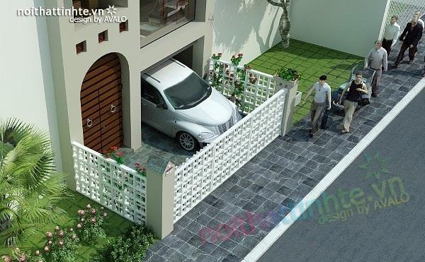 Mẫu thiết kế nhà phố đẹp 02