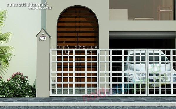 Mẫu thiết kế nhà phố đẹp 05