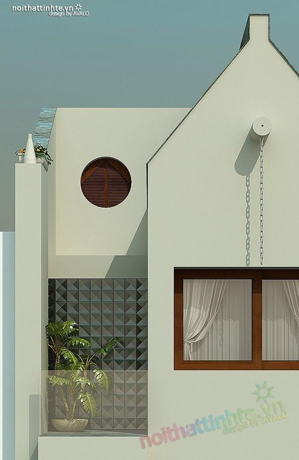 Mẫu thiết kế nhà phố đẹp 09