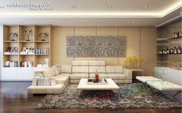 Thiết kế nội thất chung cư  liên thông hiện đại 04
