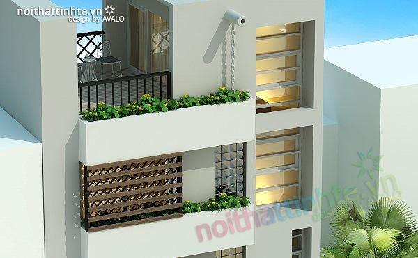 Thiết kế nhà phố đẹp30m2 nhà anh Tuaep 10