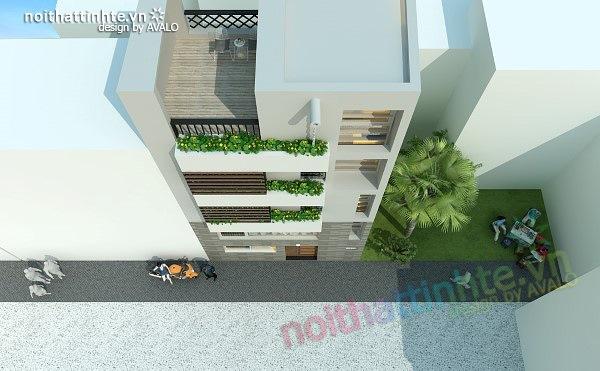 Thiết kế nhà phố đẹp30m2 nhà anh Tuaep 04
