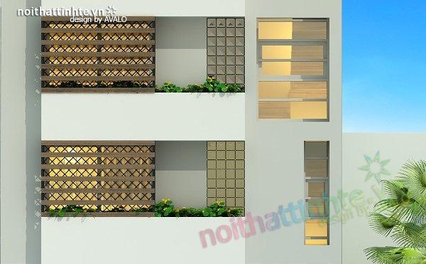 Thiết kế nhà phố đẹp30m2 nhà anh Tuaep 08