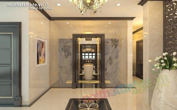 Thiết kế nội thất biệt thự cao cấp H&P anh Phương 10