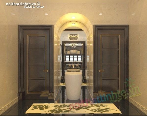 Thiết kế nội thất biệt thự cao cấp H&P anh Phương 11