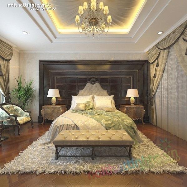 Thiết kế nội thất biệt thự cao cấp H&P anh Phương 12