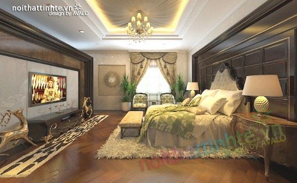 Thiết kế nội thất biệt thự cao cấp H&P anh Phương 14