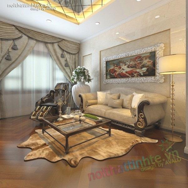 Thiết kế nội thất biệt thự cao cấp H&P anh Phương 15