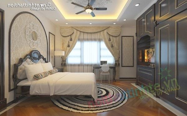 Thiết kế nội thất biệt thự cao cấp H&P anh Phương 18