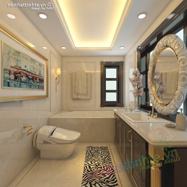 Thiết kế nội thất biệt thự cao cấp H&P anh Phương 19