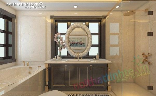 Thiết kế nội thất biệt thự cao cấp H&P anh Phương 20