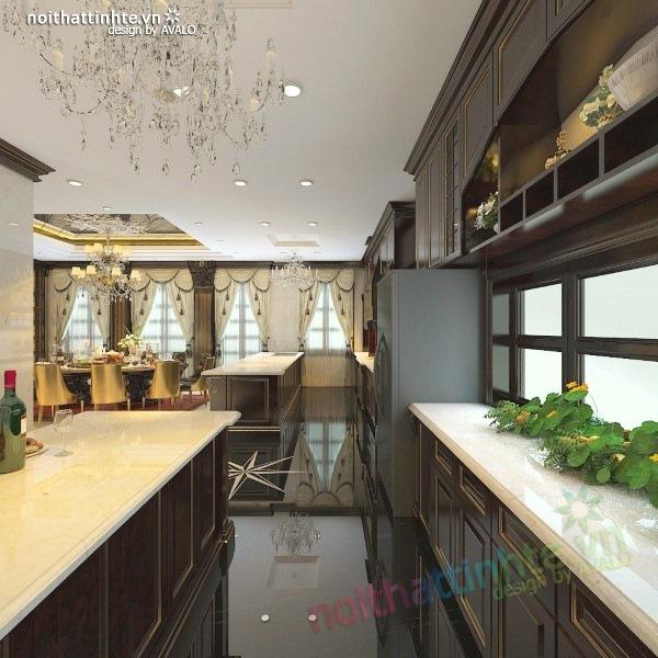 Thiết kế nội thất biệt thự cao cấp H&P anh Phương 04