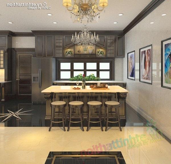Thiết kế nội thất biệt thự cao cấp H&P anh Phương 05