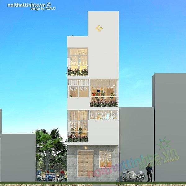 Thiết kế nhà nhỏ diện tích 25 m2 02